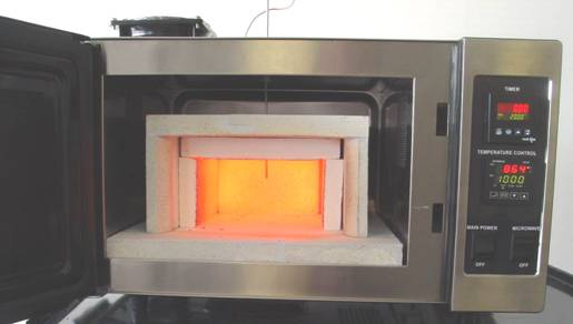 The Temperature Inside Inner Le Can Increase From 20 ºc To 1 000 In Under 35 Minutes When Empty Sample Heating Times Depend On Loads